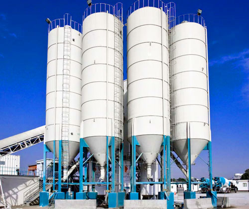 Основные элементы бетонного завода