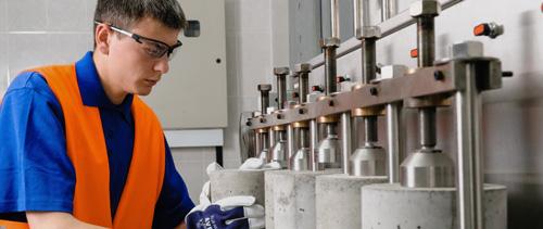 Лаборатория проверка бетона заказать миксер раствора