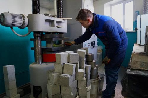Лаборатория на бетон завод затвердевание бетона